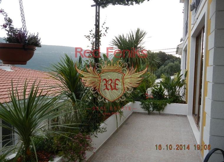 Квартиры с панорамным видом в Дженовичи, Квартира в Херцег Нови Черногория