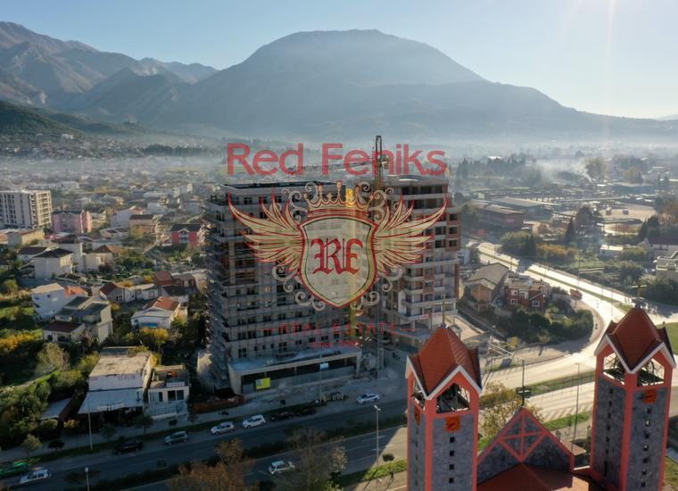 Квартиры в новом доме возле моря в Баре, Квартира в Бар Черногория