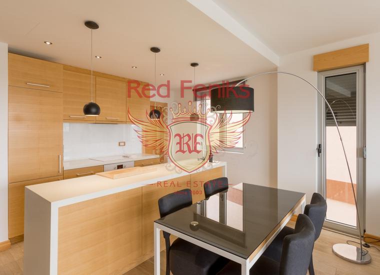 Элитная трехкомнатная квартира в Нью Кондо, Тиват, Кавац, Квартира в Регион Тиват Черногория