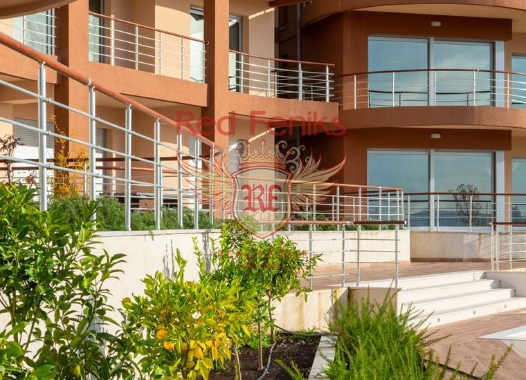Элитная трехкомнатная квартира в Нью Кондо, Тиват, Кавац, купить квартиру в Кавач