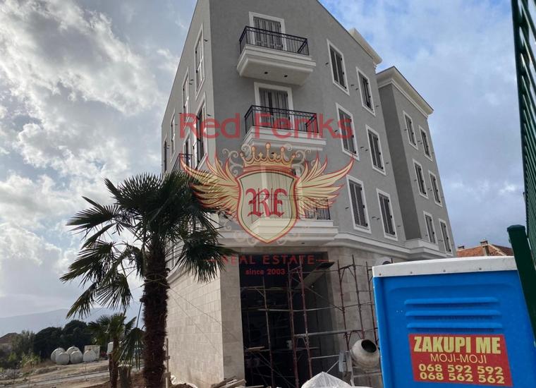 Квартира в новом здании в составе комплекса Порто Монтенегро, купить квартиру в Тиват
