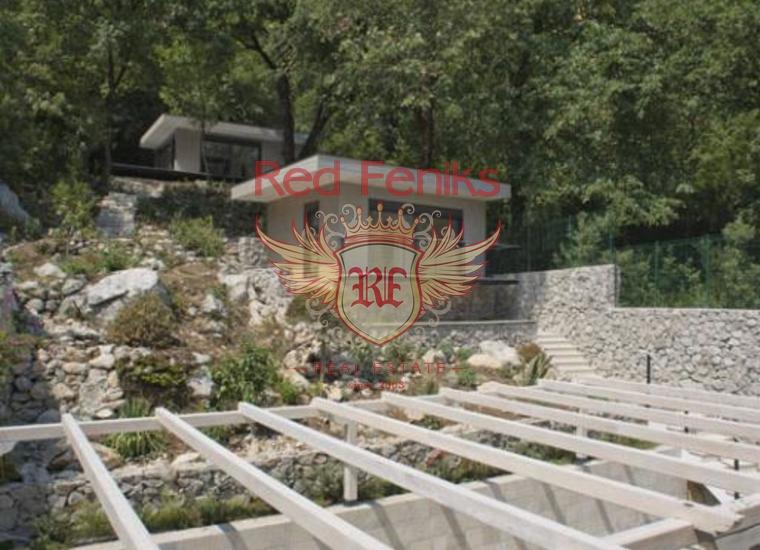 Вилла на первой линии Боко-Которского залива, в живописном поселке Стрп, Дом в Которский залив Черногория