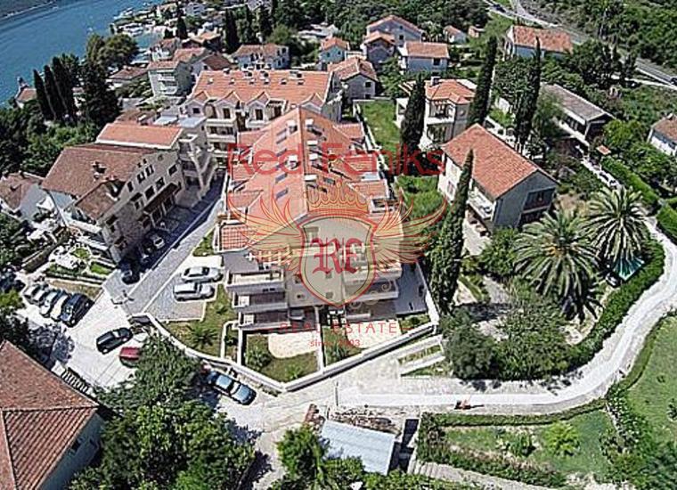 Шикарная квартира в закрытом комплексе, в курортном поселке Дженовичи, Квартира в Херцег Нови Черногория