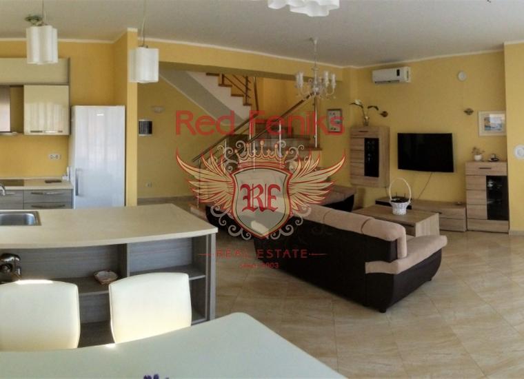 Великолепный, новый дом в Джурашевичах, п-в Луштица, Дом в п-ов Луштица Черногория