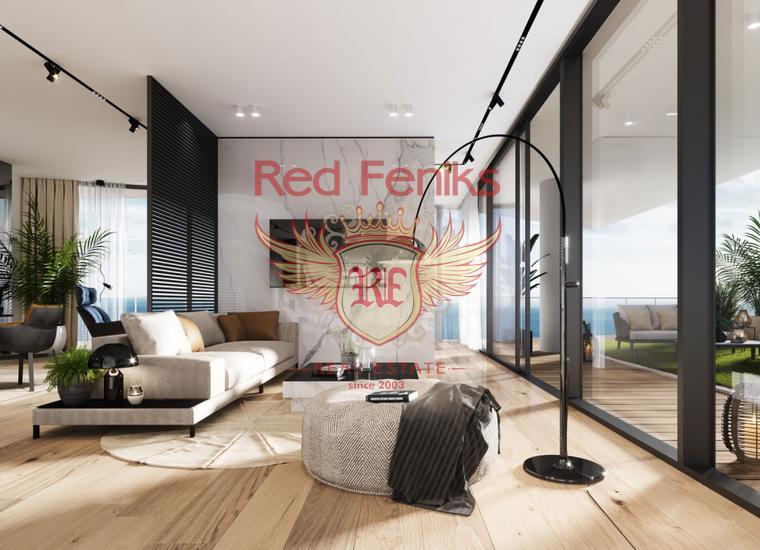 Новый жилой комплекс класса люкс в Бечичи, Квартира в Регион Будва Черногория