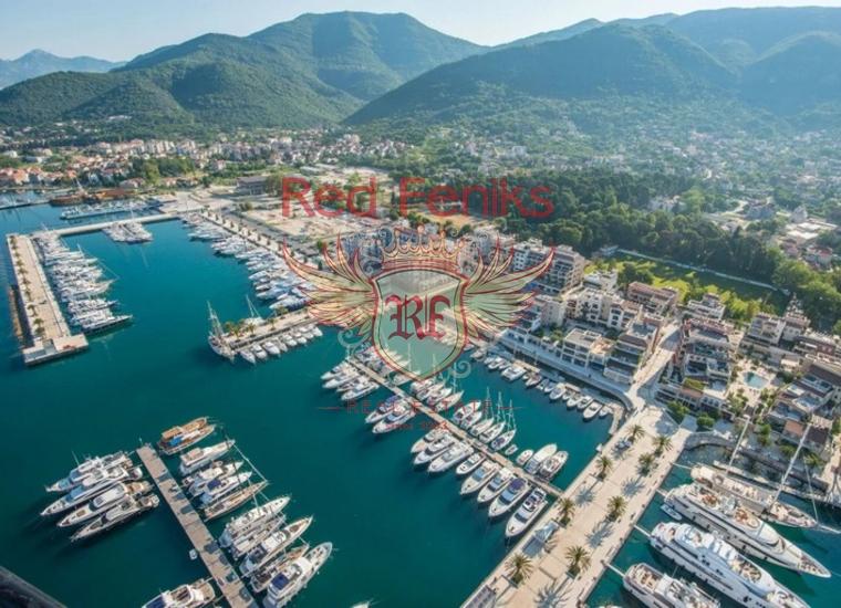 Продается роскошная квартира на набережной Тивата, Черногория.