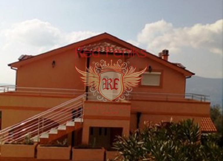 Панорамный 3-х Этажный Дом в Поди, Вилла в Херцег Нови Черногория