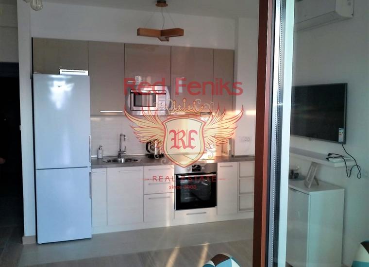 Апартаменты в Новом Клубном Комплексе в Тивате, Квартира в Регион Тиват Черногория