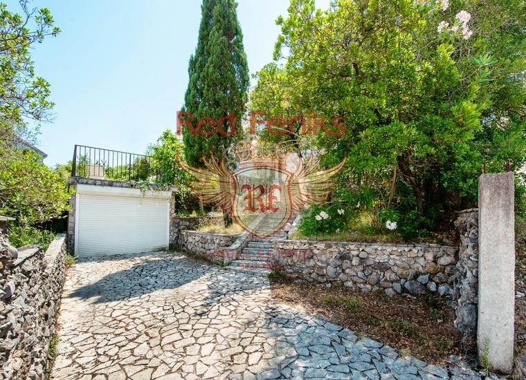Панорамная люкс вилла с бассейном в поселке Крашичи, Луштица, купить дом в п-ов Луштица