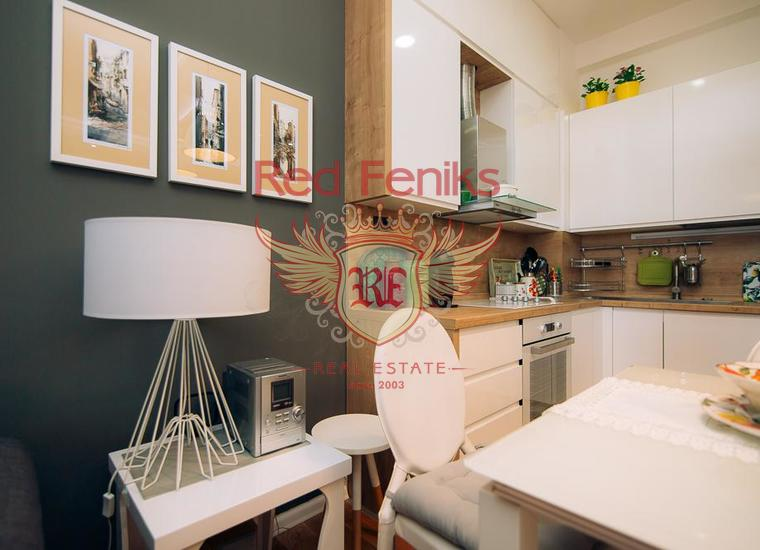 Трехкомнатная квартира в Будве в 100 метрах от моря, купить квартиру в Будва