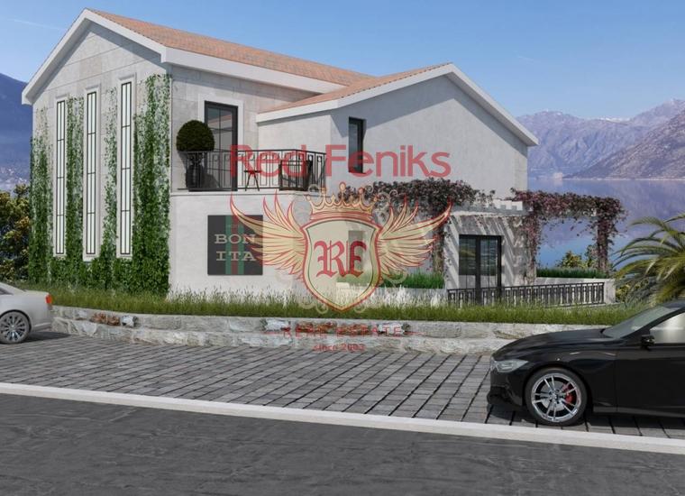 Новый мини-отель с пляжем в Доброте, купить коммерческую недвижимость в Которский залив