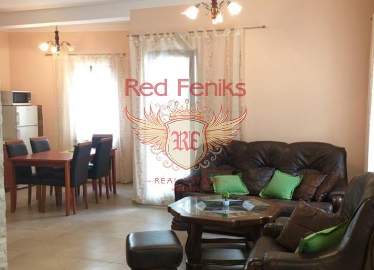 Двухуровневая квартира в городе Рисан. Черногория, купить квартиру в Которский залив