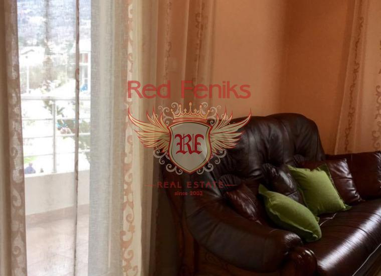 Двухуровневая квартира в городе Рисан. Черногория, Квартира в Которский залив Черногория