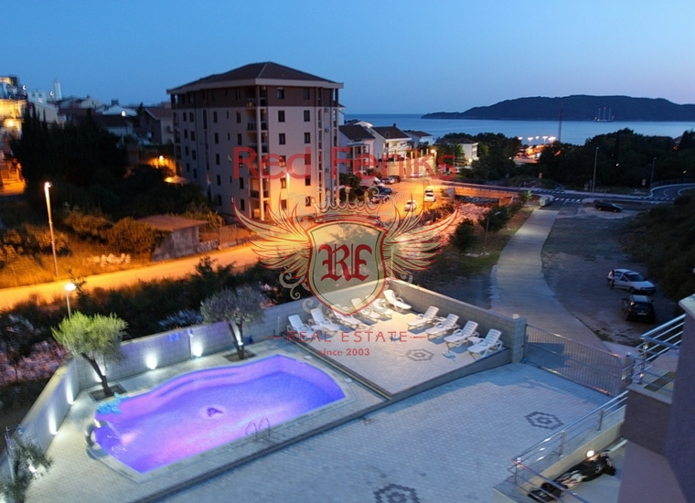 Прекрасный Отель в Бечичи, Коммерческая недвижимость в Регион Будва Черногория