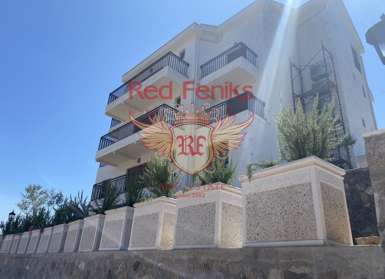 Новый жилой комплекс в Кртолe, Луштица., Квартира в п-ов Луштица Черногория