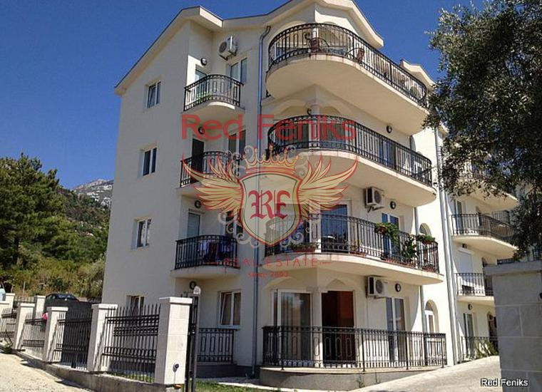 Апартамент с двумя спальнями в Каваче, Котор (Бока-Которский залив), Квартира в Которский залив Черногория