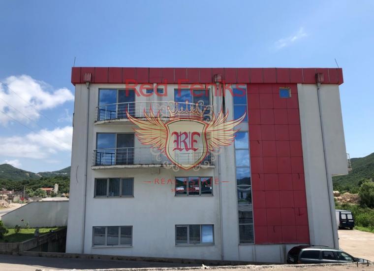 Коммерческое помещение расположенное на магистрали Будва - Тиват, Коммерческая недвижимость в Регион Будва Черногория