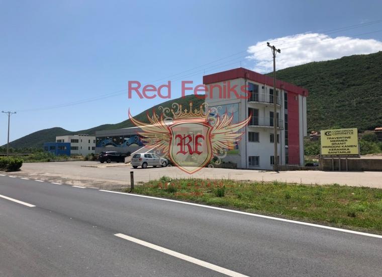 Коммерческое помещение расположенное на магистрали Будва - Тиват, купить коммерческую недвижимость в Регион Будва