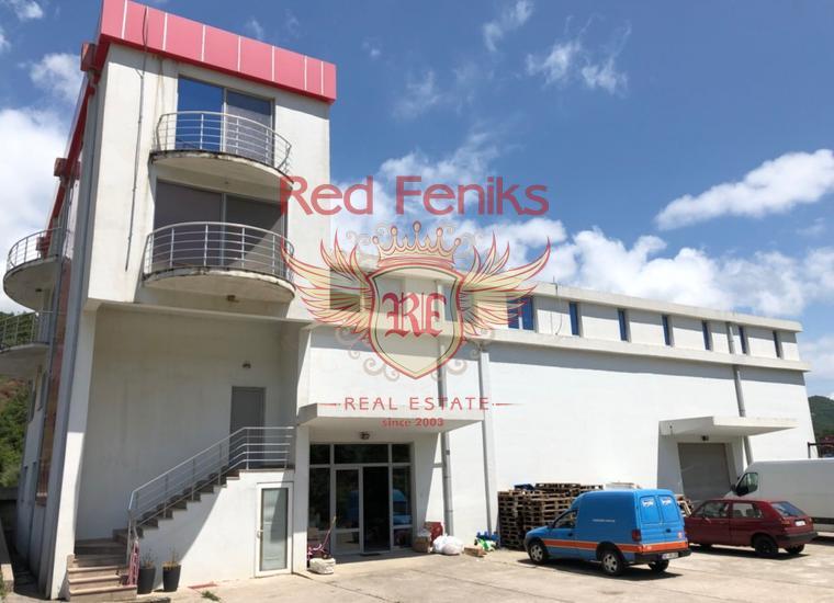 Коммерческое помещение расположенное на магистрали Будва - Тиват, купить коммерческую в Будва