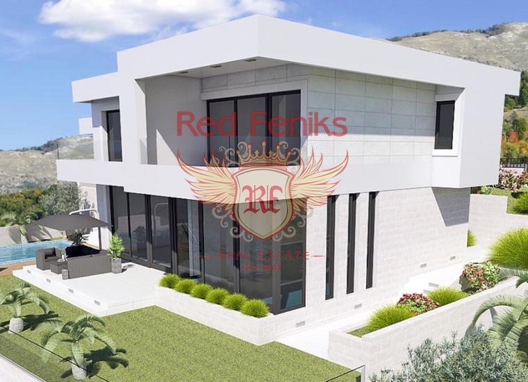 Красивая современная вилла в Близикуче, купить дом в Регион Будва