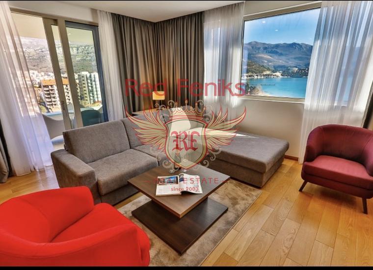 Прекрасная Квартира на Первой Линии, купить квартиру в Регион Будва