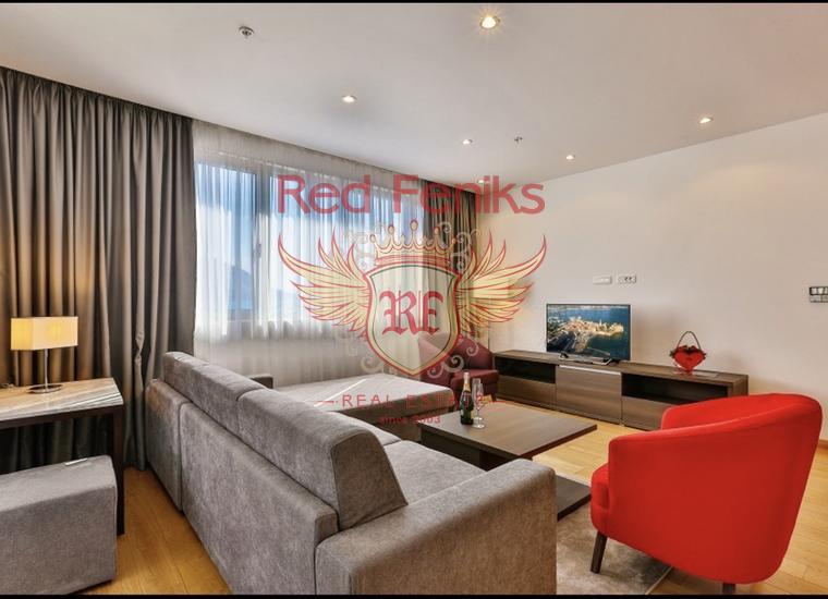 Прекрасная Квартира на Первой Линии, купить квартиру в Будва