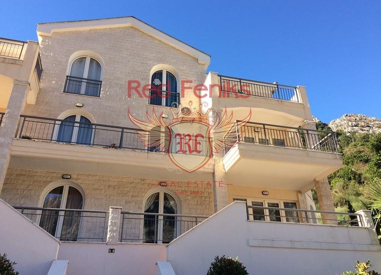 Великолепная квартира с видом на залив и старый город Котор, Квартира в Муо Черногория