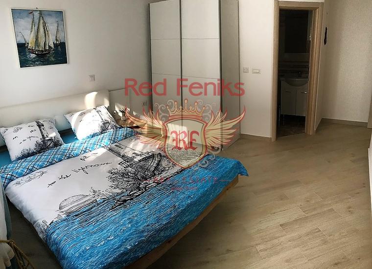 Квартира с двумя спальнями в Барской ривьере, купить квартиру в Добра Вода