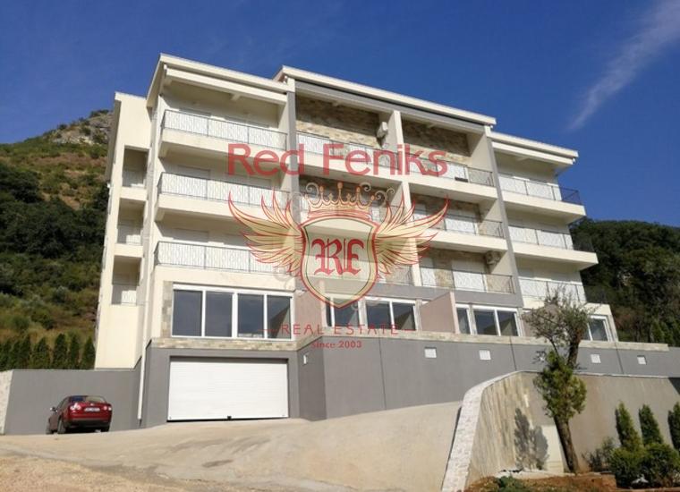 Новая Трехкомнатная Квартира в Пржно, Квартира в Регион Будва Черногория