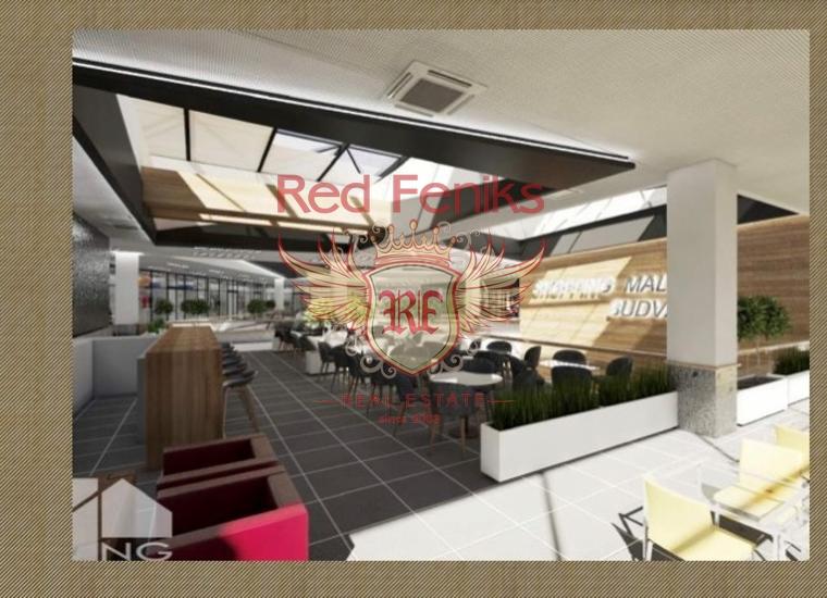 Торговый центр в Будве, купить коммерческую недвижимость в Регион Будва