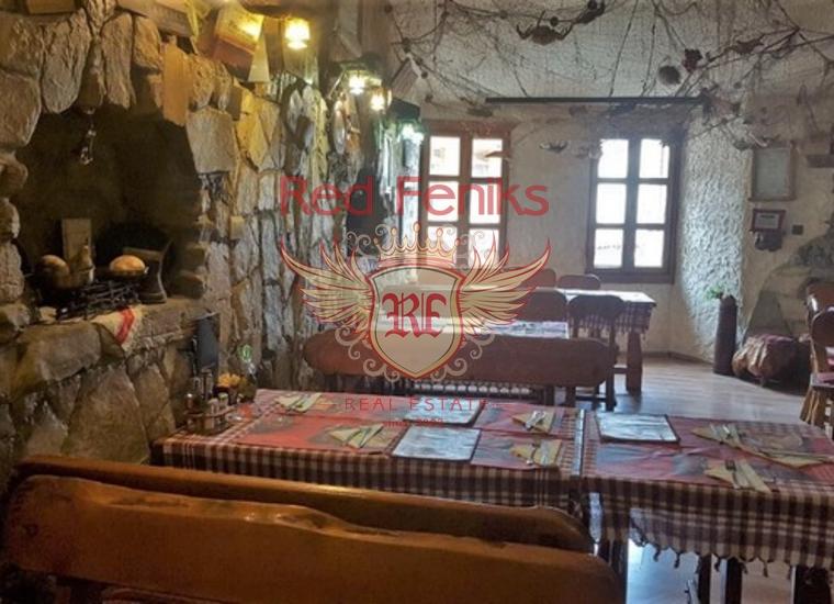 Уютный Ресторан в Старом Баре, Коммерческая недвижимость в Регион Бар и Ульцинь Черногория