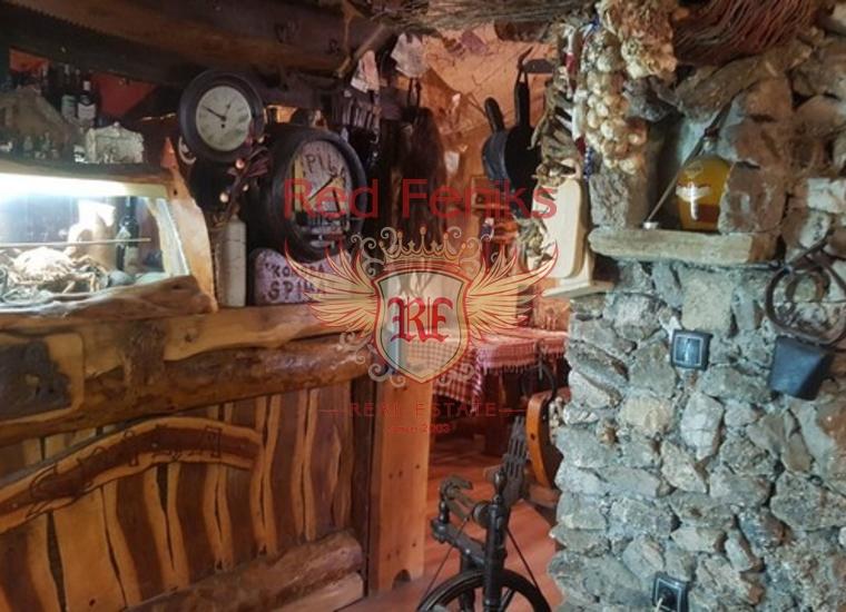 Уютный Ресторан в Старом Баре, Коммерческая недвижимость в Бар Черногория