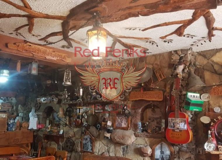 Уютный Ресторан в Старом Баре, купить коммерческую недвижимость в Регион Бар и Ульцинь