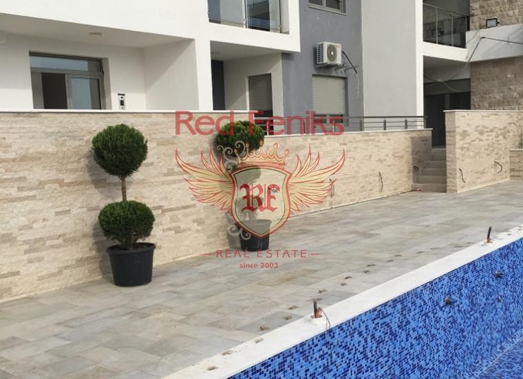 Апртаменты в Новом Комплексе Lux, Тиват, Квартира в Тиват Черногория