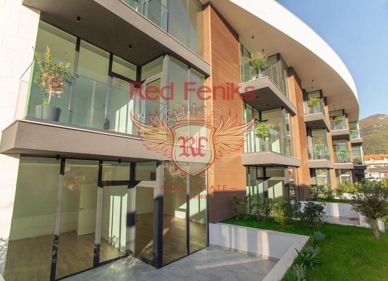 Новый жилой комплекс в Тивате, Донной Ластве, купить квартиру в Регион Тиват