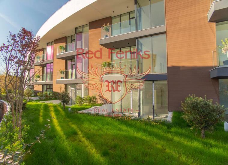 Новый жилой комплекс в Тивате, Донной Ластве, Квартира в Тиват Черногория