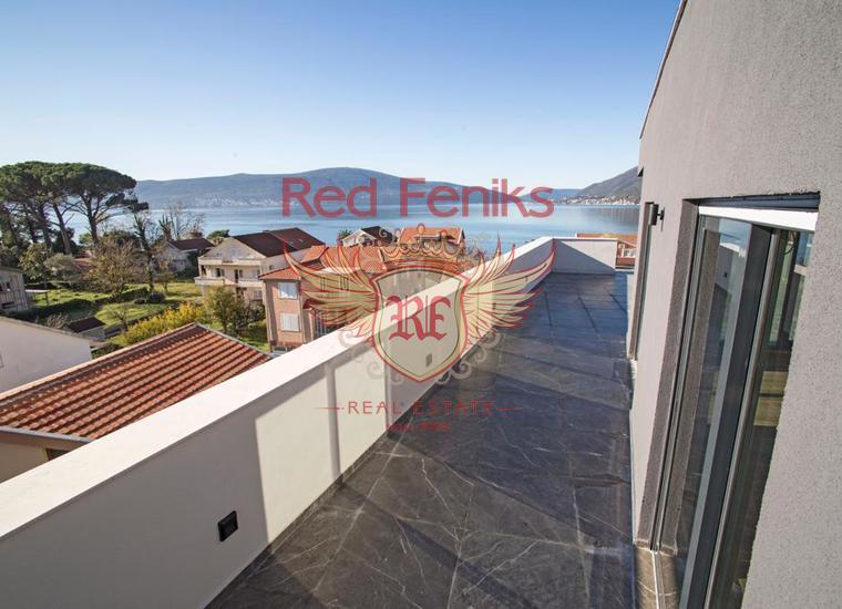 Новый жилой комплекс в Тивате, Донной Ластве, Квартира в Регион Тиват Черногория