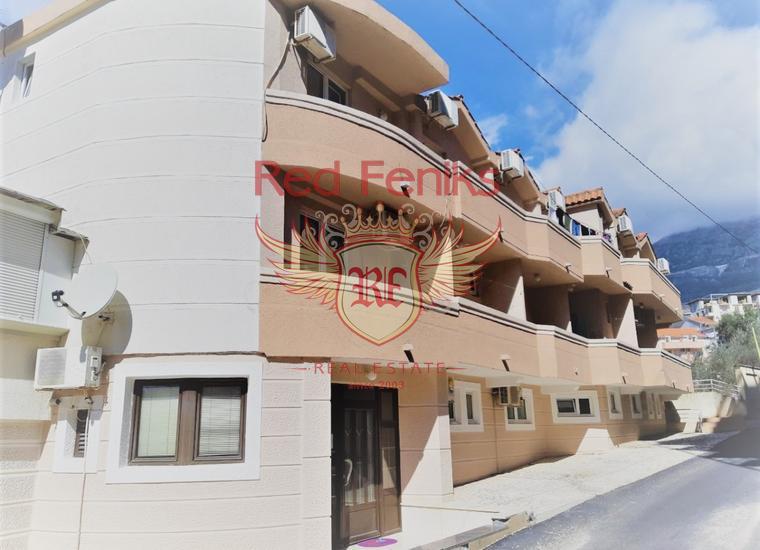 Отель с рестораном и паркингом рядом с пляжем в Бечичи, купить отель в Регион Будва