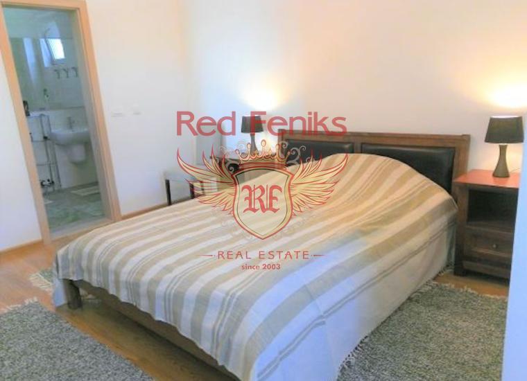 Великолепная Квартира с Видом на Море в Бечичи, Квартира в Регион Будва Черногория
