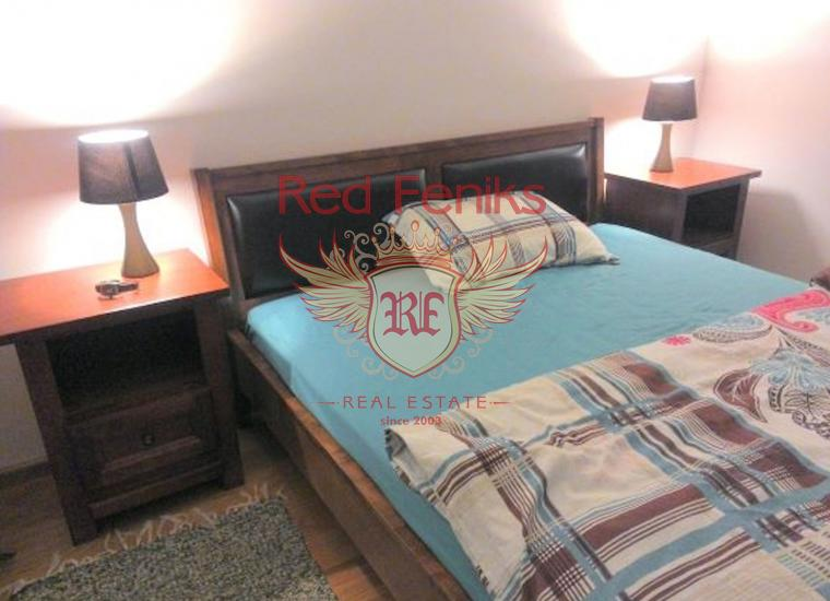 Великолепная Квартира с Видом на Море в Бечичи, купить квартиру в Регион Будва