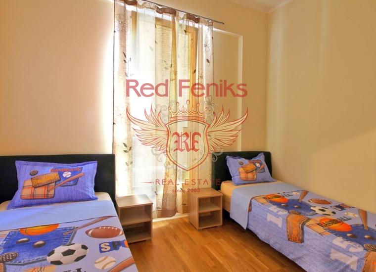 Инвестиционные возможности с гарантированным доходом от аренды, продажа квартир с обслуживанием, Черногория, Будва, купить квартиру в Бечичи