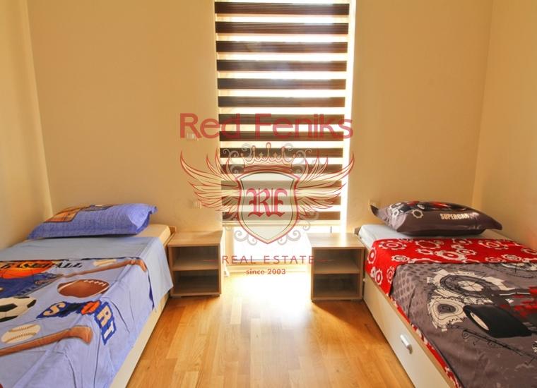 Четырехкомнатная квартира в Будве/Бечичах на первой линии, Квартира в Регион Будва Черногория