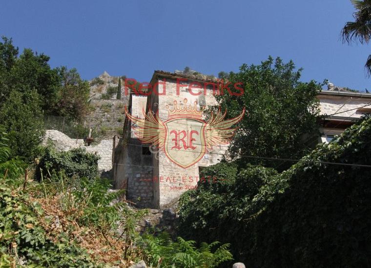 Каменный дом в Старом городе Котор, купить дом в Которский залив