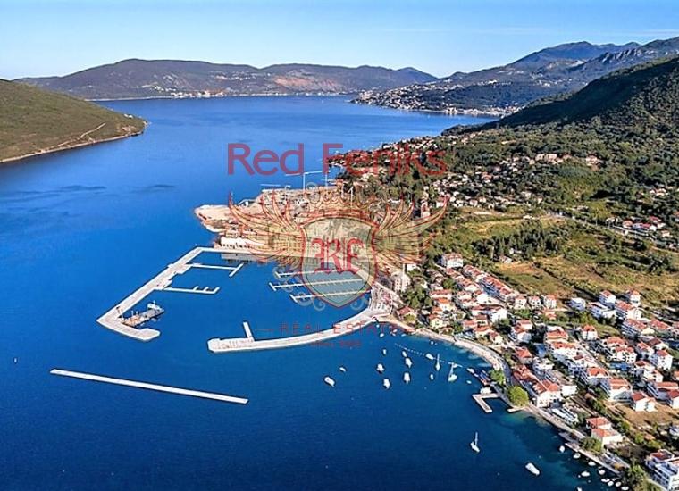 Квартира с одной спальней с видом на море рядом с Порто Нови, Квартира в Херцег Нови Черногория