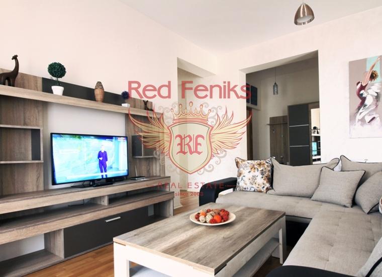 Четырехкомнатная квартира в Будве/Бечичах на первой линии, купить квартиру в Бечичи
