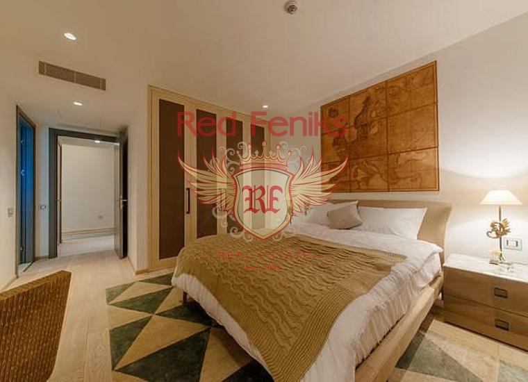Недвижимость класса люкс в жилом комплексе в Кумбор, купить квартиру в Херцег Нови