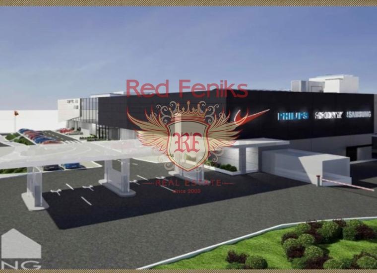 Торговый центр в Будве, Коммерческая недвижимость в Будва Черногория