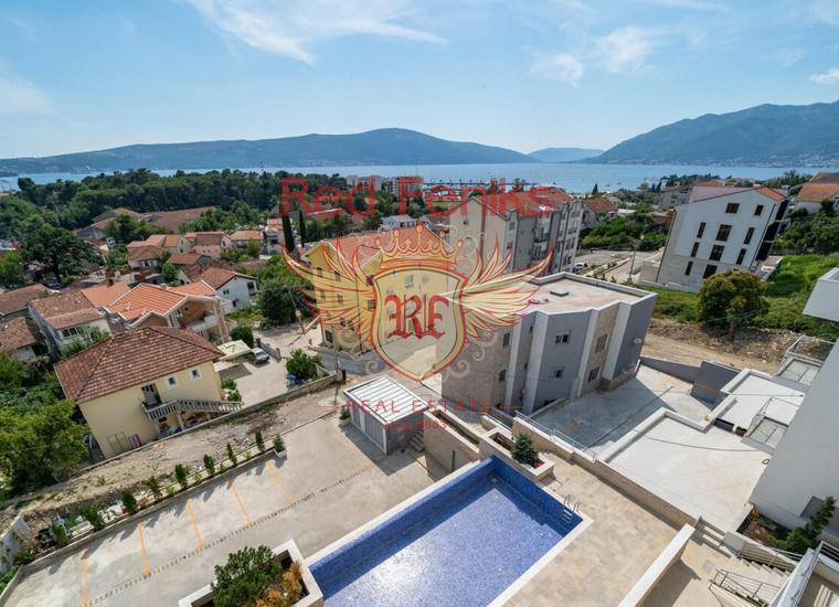 Апртаменты в Новом Комплексе Lux, Тиват, Квартира в Регион Тиват Черногория