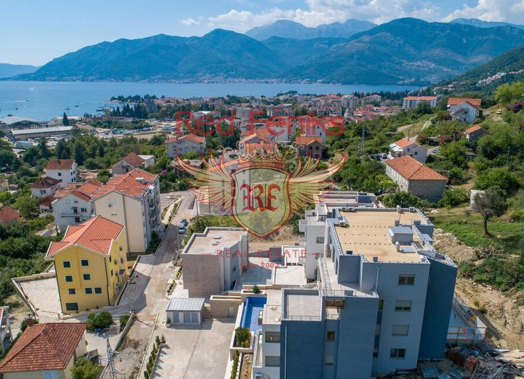 Апртаменты в Новом Комплексе Lux, Тиват, купить квартиру в Регион Тиват