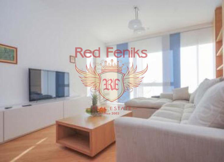 Двухкомнатная квартира в Будве на первой линии в комплексе, Квартира в Будва Черногория